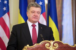 Ukrainian President Poroshenko Addresses the Media | by U.S. Department of State