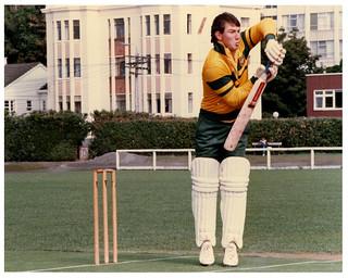 Geoff Marsh - At Victoria University Wellington - 1986