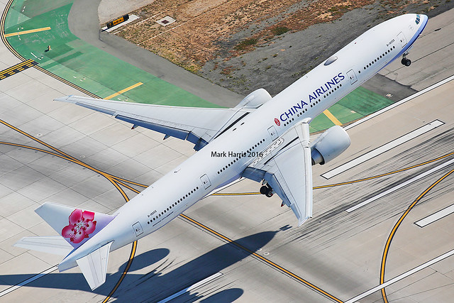 China Airlines Boeing 777-3 B-18055