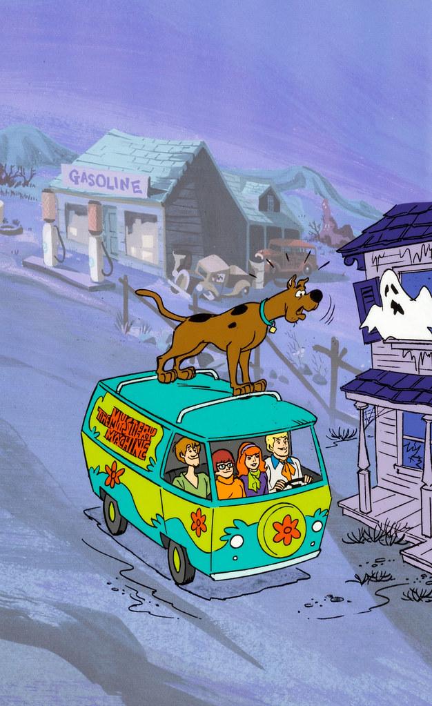 Scooby Doo Coloring Book Cover Publicity Cel Hanna Barber Flickr