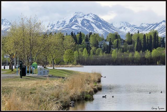Westchester Lagoon, Anchorage Alask