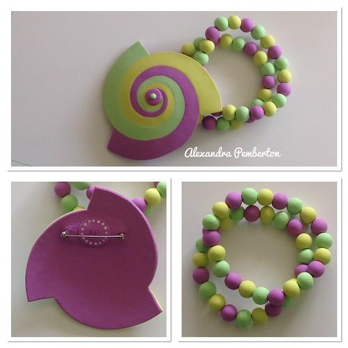 Brooch and bracelets | by saashka