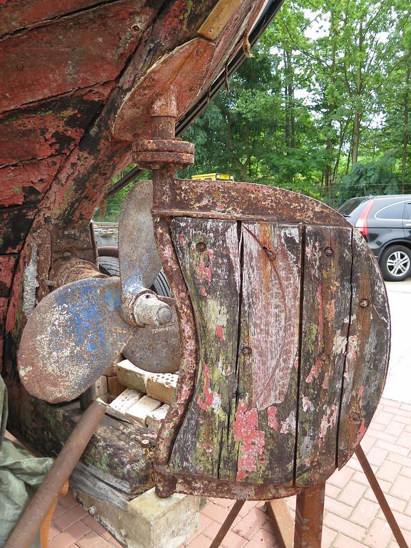Wood Rudder