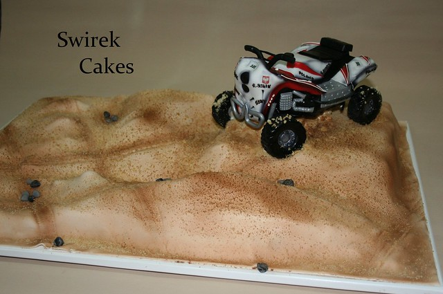 Dakar Quad Cake