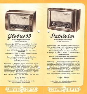 Loewe Opta Radio Dealer Brochure Holland 19523 Dealer