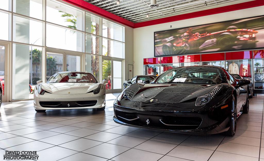 Ferrari Of Newport Beach David Coyne Flickr