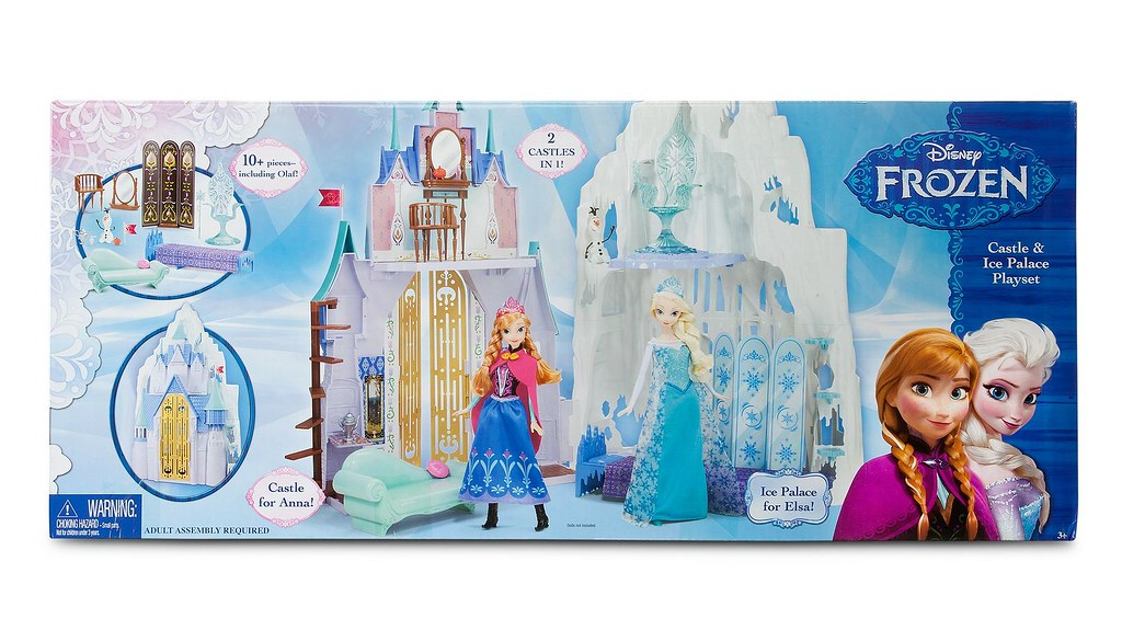 a0a4e8dfdad ... Frozen 2-in-1 Castle and Ice Palace Playset by Mattel - US Disney