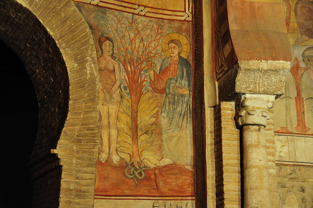 280 - Pinturas con Ramita en la Mano - Iglesia San Román (Toledo) - Spain.