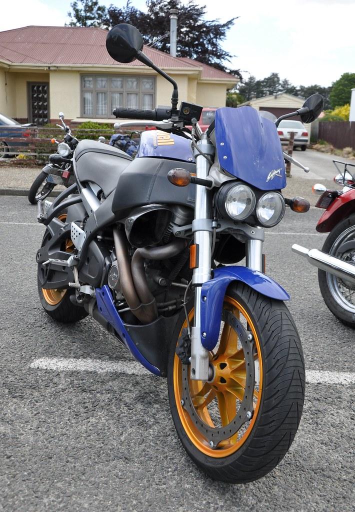 Buell XB12 Ss Lightning Long Spiegel Lenkerendenspiegel Montana2 Paar