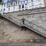 Emily and the parisian steps