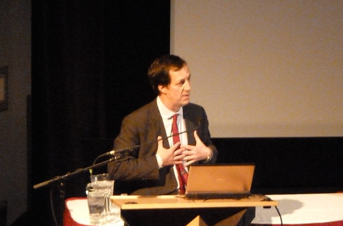 Andrew Coyne speaks at SFU | by sillygwailo