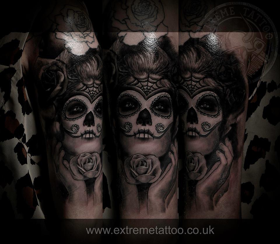 Dia De Los Muertos Tattoo Inverness Tattoo And Piercing S