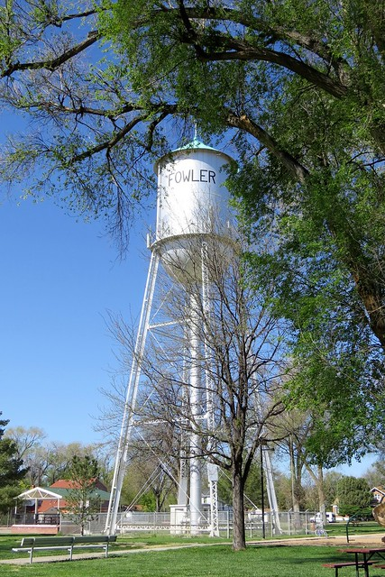 Water Tower in the Town Park