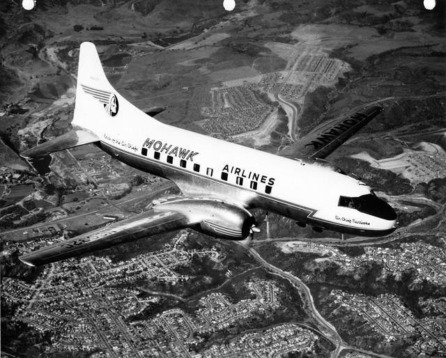 Convair 240 N6632C Mohawk AL 17-201