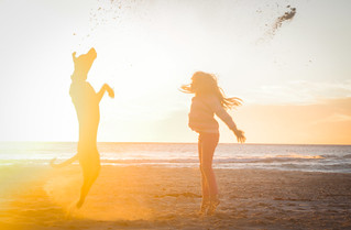 Playing on the Beach | by AfrikaWyn