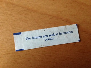 Best. Fortune. Ever. | by coffeehistorian