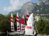 Lago di Garda, katamarány čekají, foto: Petr Nejedlý