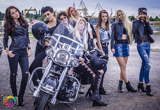 Harley-Davidson Szczecin and girls... | by holywalle project...