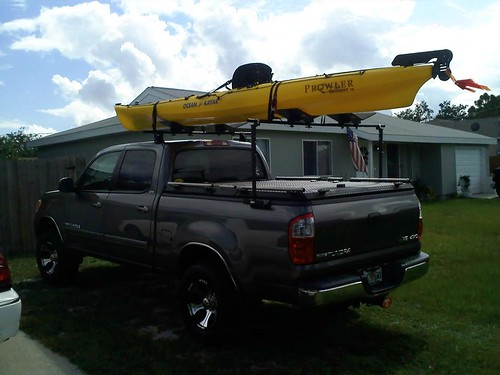 Truck Bed Kayak Rack >> A Heavy Duty Truck Bed Cover And Kayak Rack On A Toyota Tu… | Flickr