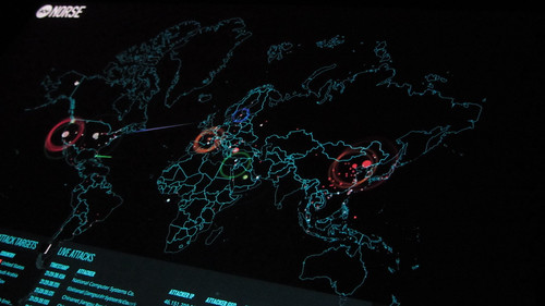 Cyber attacks | by Christiaan Colen