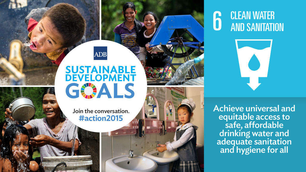 Sustainable Development Goal #6: Clean Water and Sanitatio…   Flickr