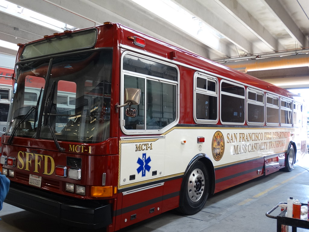 San Francisco Fire Department Mass Casualty Transport Mct Flickr