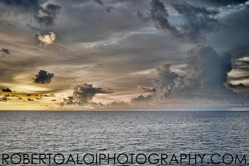 View from the Lake Worth pier - Single Exposure - Not HDR