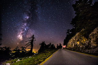 It was a magical night on the mountain   by Vagelis Pikoulas