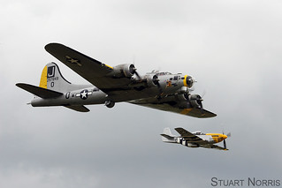 Liberty Belle and Ferocious Frankie Flying Legends 2008 | by stu norris