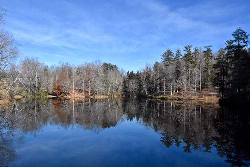 d7200 nikon stevelamb water reflection basspond asheville biltmoreestate northcarolina