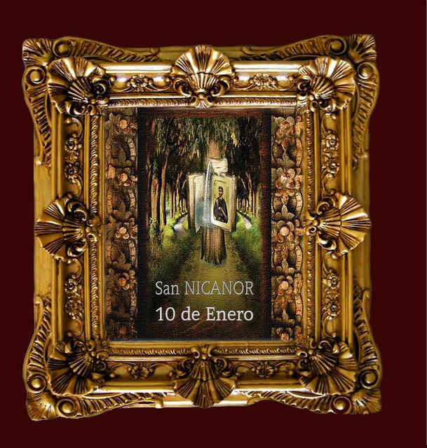 San NICANOR 10 de Enero.(†Dedicado  al P.Cotallo)
