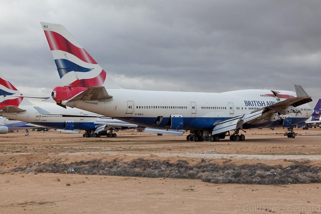 Boeing 747-400 British Airways G-BNLE cn 24047/753