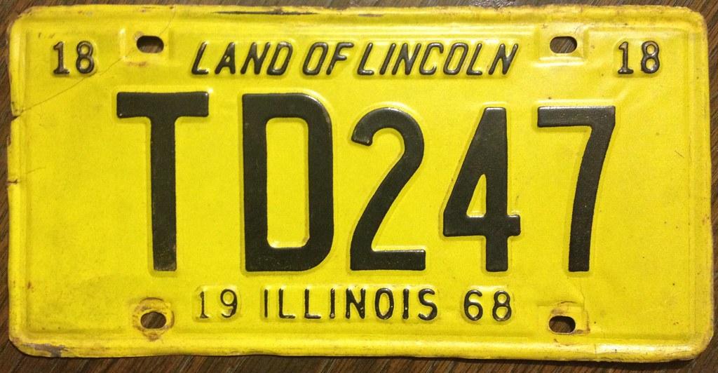 ILLINOIS 1968 ---MILEAGE TAX, 8000-10000 LBS | Jerry