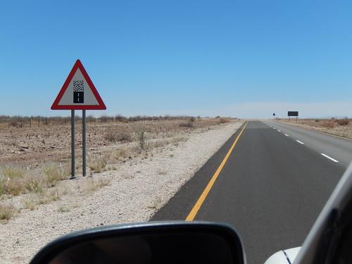 Onderweg naar Rehoboth - pas op onverharde weg