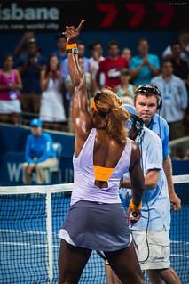 Brisbane International 2014 Serena Williams vs Maria Sharapova | by ljology