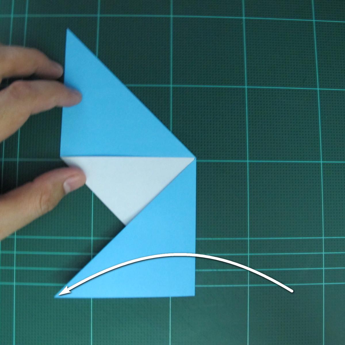 การพับกระดาษเป็นรูปตัวเม่นแคระ (Origami Hedgehog) 008