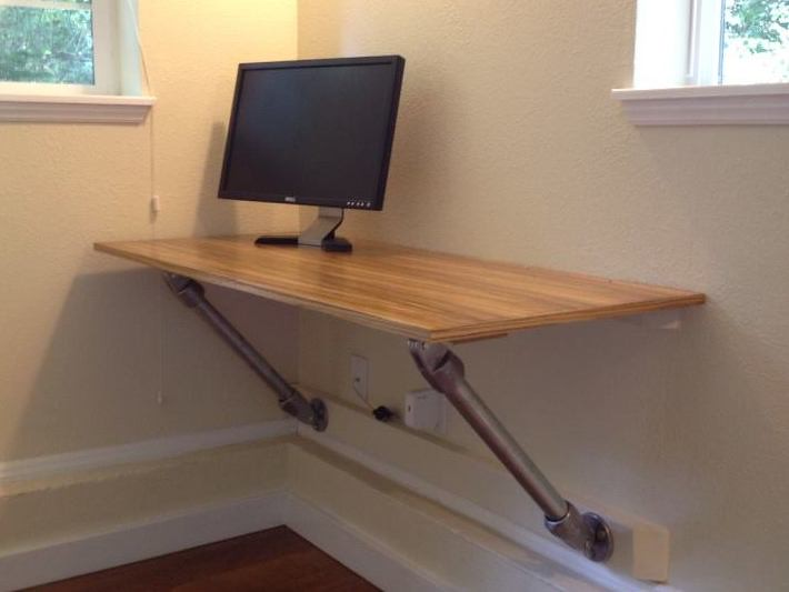 Fantastic Wall Mounted Desk Learn More About Wall Mounted Desks Beutiful Home Inspiration Ommitmahrainfo