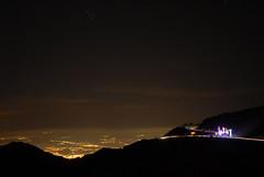Pohled ze střediska do údolí na Granadu