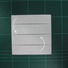 การพับกระดาษเป็นรูปปลาทอง (Origami Goldfish) 001