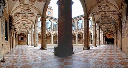"Bologna: ""Palazzo Archiginnasio""."