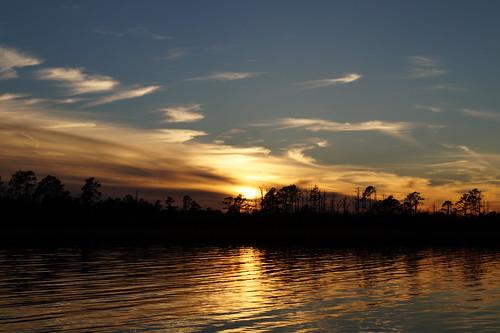 sunset cloud water clouds creek nc outdoor northcarolina cravencounty northwestcreek cloudsstormssunsetssunrises