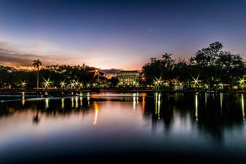 nightphotography sunset nature reflections tripod philippines lagoon bacolod negros slowexposure occidental