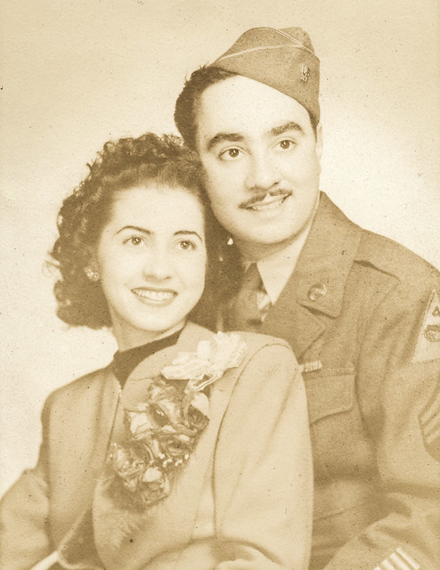 Aunt Mary and Uncle Harry, 1944