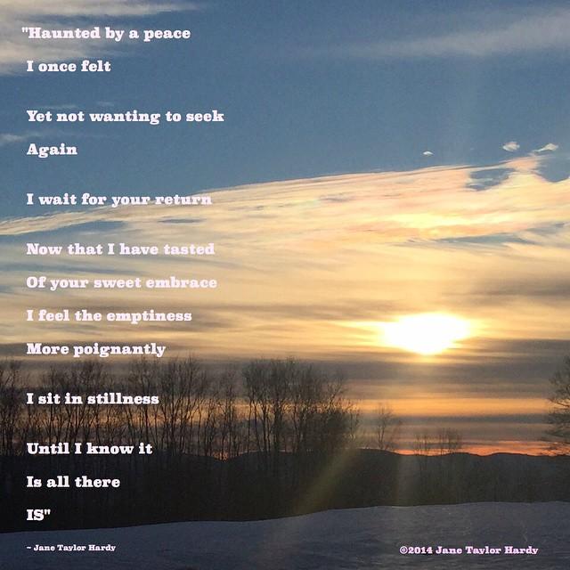 Sunrise Poems 7