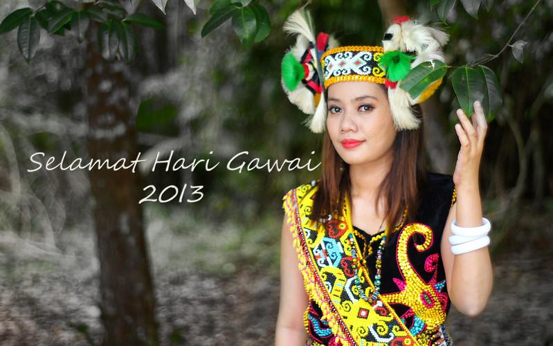Selamat Hari Gawai 2013, Gayu Guru Gerai Nyamai