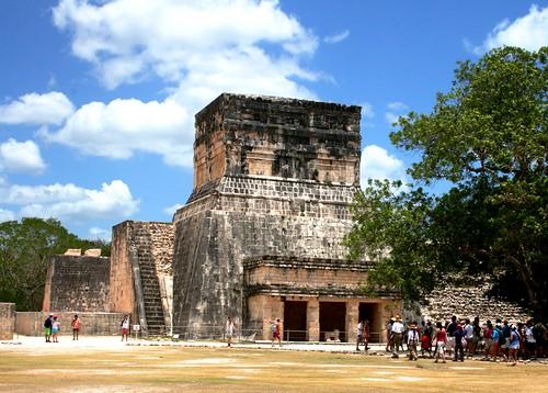 Chichen Itza: le temple des jaguars