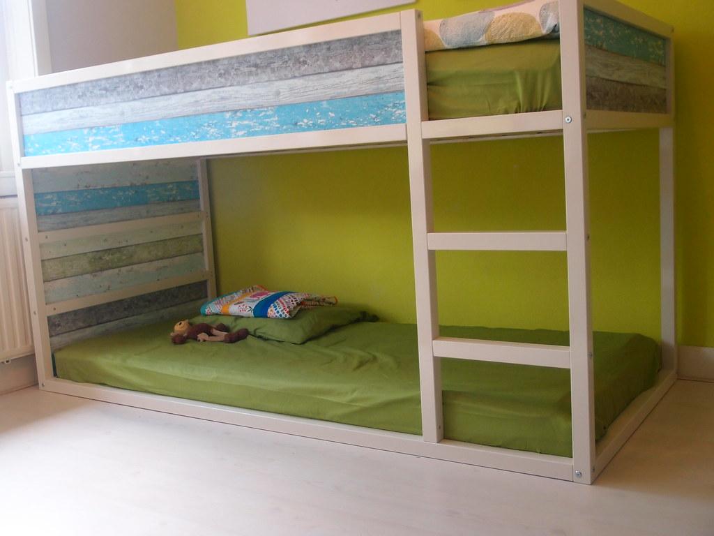 Ikea Hack Kura Bed Diy With Scrapwood Flickr
