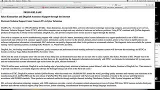 DiagSoft SEi COMDEX 1996