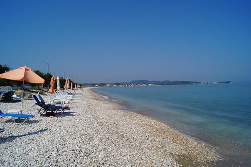 Acharavi beach   by petraust
