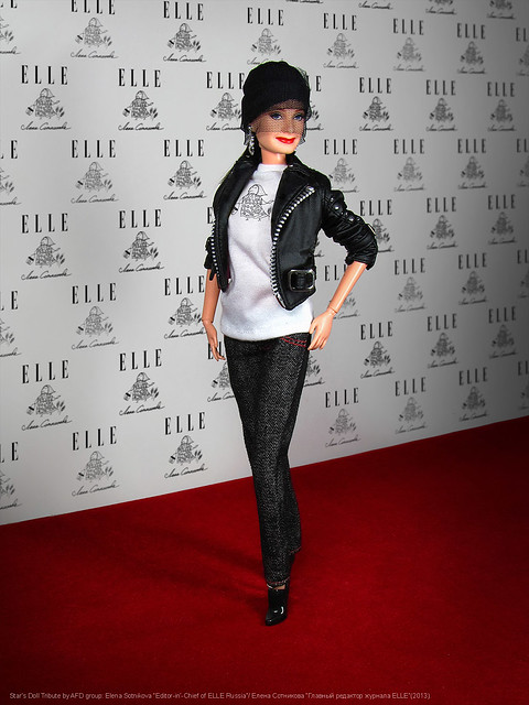 Star's Doll Tribute by AFD group: Elena Sotnikova, Editor-in-Chief of ELLE Russia (2013).